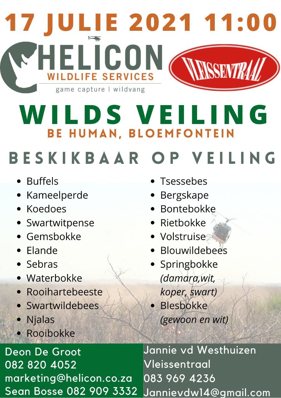 Helicon Wildlife Auction